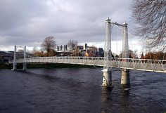 River Ness - Infirmary Bridge Inverness Scotland | by conner395