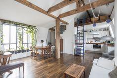 Paris 3e : Dernier étage esprit loft - Agence EA Paris