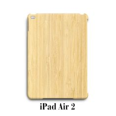 Wood Bamboo iPad Air 2 Case Cover