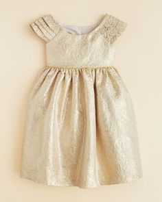 Pippa & Julie Girls' Brocade Dress - Sizes 2T-4T | Bloomingdale's