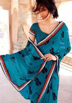 Laxmipati – Indian On the internet Retailer Launched KABIREE Designer Sarees 2014 – She9 | Adjust the Life Style - FASHIONPAB #Laxmipati #Sarees