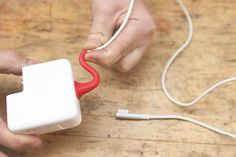 sugru is the unique self-setting rubber that's perfect for fixing things like frayed wires