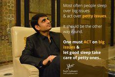 #SujitLalwani #InspirationUnlimited #TakeAction