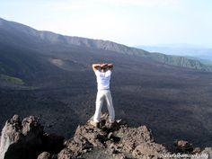 View of the Bove Valley, Etna volcano.  #etna #sicilia #sicily #sicile