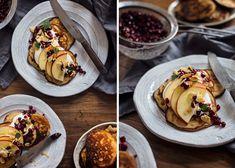 Granola granola s jablky Granola, Nutella, Rum, Waffles, Foodies, Oatmeal, Tacos, Breakfast, Ethnic Recipes