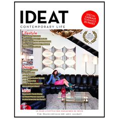 IDEAT magazine 130 avec Kelly Wearstler en cover Margaret Howell, Dubai, Kelly Wearstler, Magazines, Shopping, Special Gifts, Travel, Journals, Magazine