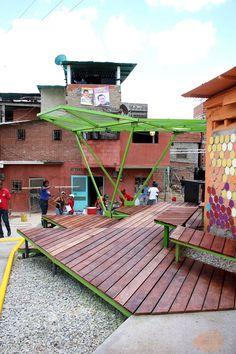 Espacios de Paz Pinto de Salinas, Caracas, 2014 - PICO Estudio