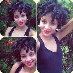 Now this is a perfect twist out!