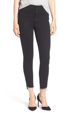 MOTHER The Stunner Ankle Step Fray Jeans (Not Guilty) available at #Nordstrom
