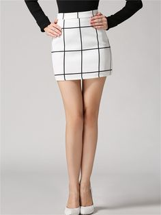 White Mini Skirt 2018 2019 #miniskirt #miniskirts #skirts #fashion #style #women #vintage