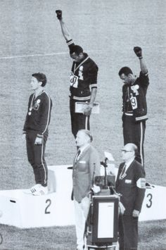 """Black Power"" Olympic Games of México (1968)."