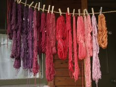 Ravelry: AsaW's madder dyeing Textile Dyeing, Colour Palettes, Dyes, Ravelry, Embellishments, Medieval, Textiles, Crafty, Embroidery