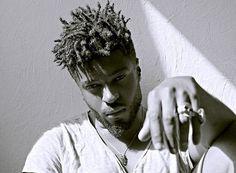 """blackfashion: """" Tee shirt: Zara Rings: Asos Harry Samba, France submited by: professionaal """" Black Men Haircuts, Black Men Hairstyles, Twist Hairstyles, Cool Hairstyles, Dreadlock Hairstyles For Men, Dreadlock Styles, Dreads Styles, High Top Dreads, Short Dreads"""