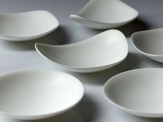 Tapas Plates in Corian® by Nathan Freeman