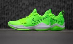 Nike PG 1 Volt Arriving This Week - Dr Wong - Emporium of Tings. Sports Shoes, Basketball Shoes, Paul George Shoes, Adidas Shoes, Sneakers Nike, Me Too Shoes, Shoes Sandals, Trainers, Kicks