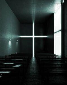 сигма — Храм Света архитектора Тадао Андо. Tadao Ando, Church Of Light, Save Our Souls, Ibaraki, Osaka Japan, Blinds, Stairs, Lighting, Building