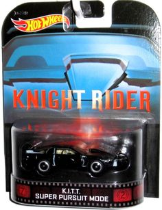 KNIGHT RIDER K.I.T.T. Surper Pursuit Mode Hot Wheels 2014 Retro Entertaiment #HotWheels #Ford