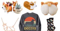 Super Cute Gifts for Corgi Lovers That Will Spark So Much Joy Treat yourself or the biggest corgi fan you know to one of these adorable findsTreat yourself or the biggest corgi fan you know to one of these adorable finds Mini Corgi, Cute Corgi, Corgi Dog, Presents For Dog Lovers, Cute Presents, Cute Gifts, Corgi Gifts, Dog Mom Gifts, Dog Lover Gifts