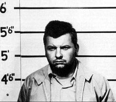 John Wayne Gacy -- this mugshot really catches his sparkling personality, doesn't it?