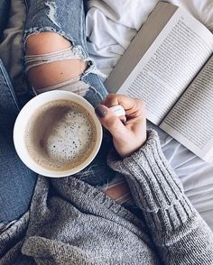 "sweptawaybbooks: ""Nothing starts the weekend off better than a new read that I'm thoroughly enjoying, and endless amounts of coffee ? I'm not far into Girls On Fire by Robin Wasserman yet but I'm."