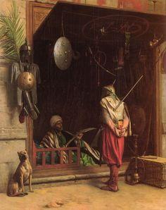 Un_marchand_d'armes_au_Caire.jpg (791×1000)