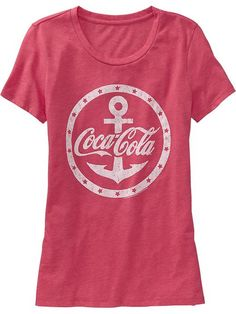 Women's Coca-Cola® Graphic Tees Product Image