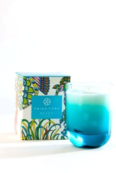 Trina Turk | Trina Turk Beach Candle- i like the design