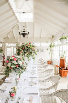 We loved how pretty The Conservatory looked for the Swellendam wedding of Ounooi and Jacques with crisp whites, warm woods and splashes of greens, creams and pinks. Wedding Events, Weddings, Country Hotel, Conservatory, Crisp, Woods, Special Occasion, In This Moment, Warm
