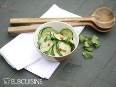 Mein neuer Liebling: asiatischer Gurken-Salat – erfrischend, lecker, schnell und gesund!