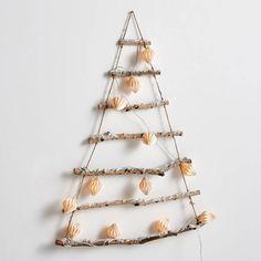 Faux sapin de Noël minimaliste