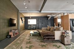 From Houzz: Converted Utah Garage
