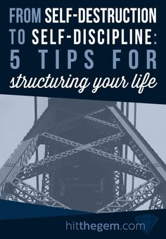 Shaun Novak shares his journey from self-discipline to self-destruction and some tips he's using to restructure his life.