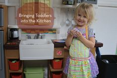 Let your little ones help in the kitchen with these easy tips // blog.rightstart.com