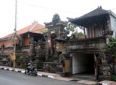 Charming Street of Ubud, Bali, Indonesia