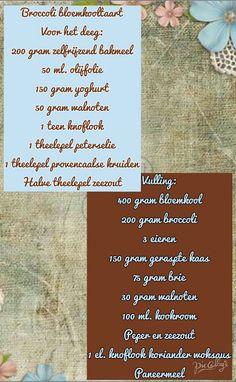 Lekker en leuk!: Broccoli bloemkooltaart