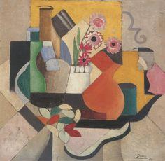 Marthe Donas, Pots and Flowers, 1926  #mskgent #museum #kunst #art #MartheDonas