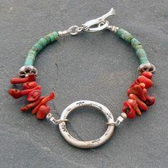 03-pulsera-de-oro-turquesa-plata-estilo-bojo-interesante