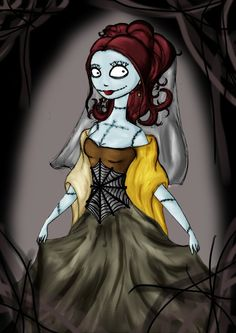 sally the nightmare before christmas more wedding dressses christmas ...