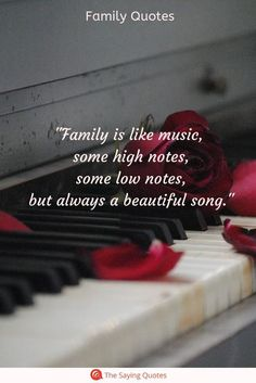 family quotes & We choose the most beautiful 52 Loving Quotes About Family That Will Improve Your Relationships Fast for Family is like music, some high notes, some low notes, but always a beautiful song most beautiful quotes ideas Beautiful Family Quotes, Happy Family Quotes, Family Poems, Disney Family Quotes, Cousins Quotes, Quote Family, Brother Quotes, Positive Quotes, Motivational Quotes