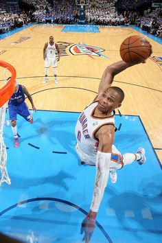 low priced 3f0d6 d4ecc Russell Westbrook Thunder vs Clippers Second Round Playoffs 2014