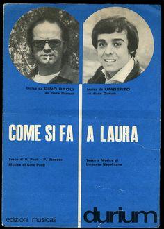 Gino Paoli + Umberto (spartito)