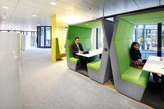 #easyCredit_de #TeamBank #green #officedesign #newwork #Innovative #ActivityBased Work Life Balance, New Work, Innovation, Green, Design, Architecture, House