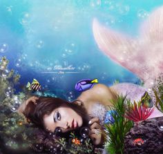 Mermaid: Ashley Greene by itsdanielle91.deviantart.com on @deviantART