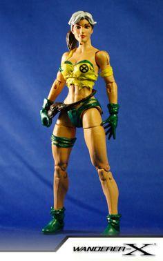 Savage Land Rogue (Marvel Legends) Custom Action Figure