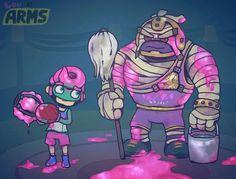ARMS comic by Louivi
