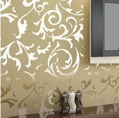 Online Shop Luxury velvet victorian wallpaper background wall wallpaper classic wall papers home decor for living room embossed damask|Aliexpress Mobile