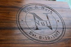 Personalized Cutting Board Anniversary Gift Wedding Gift ** More info could be found at the image url. Wedding Gifts For Couples, Personalized Wedding Gifts, Gift Wedding, Engraved Cutting Board, Personalized Cutting Board, 4th Anniversary Gifts, Wedding Shower Favors, Book Gifts, Engagement Gifts