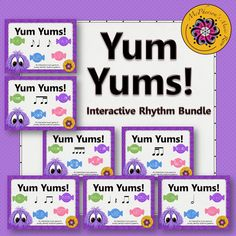 Elementary music students will love these leveled Rhythm Interactive Music Games! Excellent resource for any music classroom! Fun!