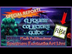 SPECIAL REPORT! Flesk Publications' Spectrum Fantastic Art Live event
