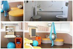 La salle nature est un espace physiologique à mi-chemin entre une salle d'accouchement médicalisée et  une naissance à domicile...